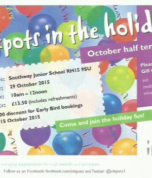 Oct half term wshop